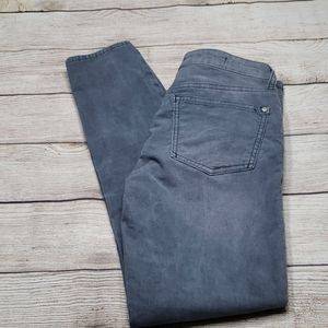 Anthropologie sz26 Slate Gray Corduroy Pants